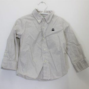 UNITED COLORS OF BENNETON Stripe Button-Down 18-24